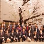 4月1日に入社式をおこないました。