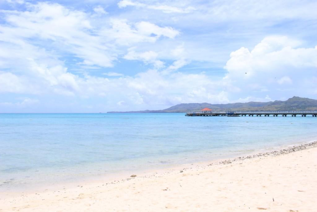 周囲4.4kmの小さなリゾート島